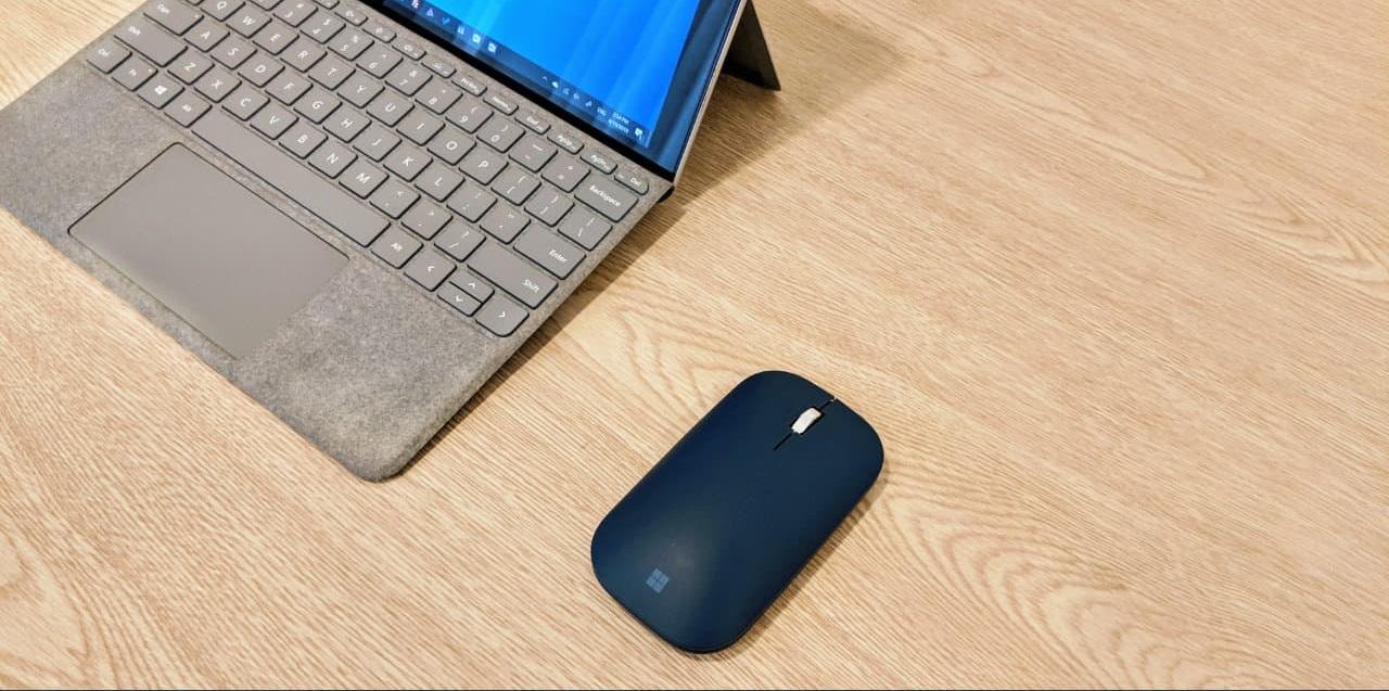 نحوه اتصال ماوس سرفیس موبایل به رایانه خود
