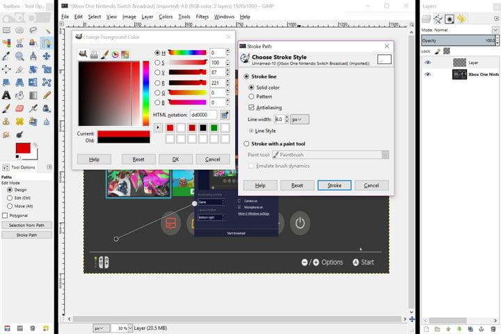 دانلود نرم افزار رایگان GIMP